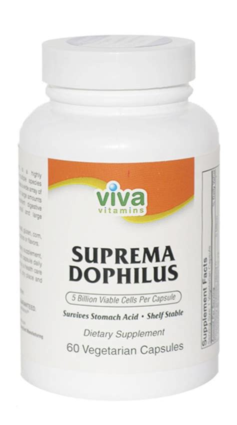 magnesio suprema review of suprema dophilus multi probiotic supplement pill