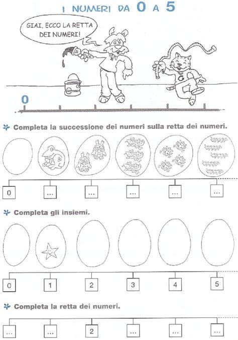 amici di letto pdf esercizi matematica scuola elementare numeri 0 5