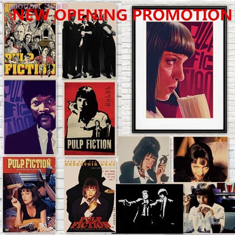 quentin tarantino film essay pulp fiction posters movie posters poster vintage retro