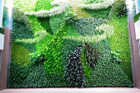 Living Wall Canada The Most Artistic Canadian Airports