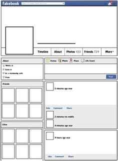 best photos of facebook templates for school projects
