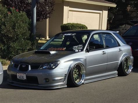 lowered subaru impreza wagon 25 best ideas about wrx wagon on subaru wrx