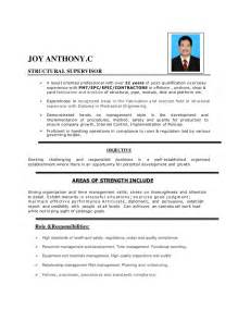 Structural Supervisor Resume structural supervisor resume resume ideas