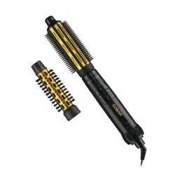 Conair hot air curling iron brush attachment dual voltage hair dryer