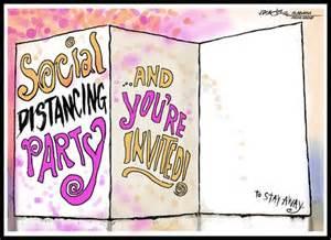 wanna    social distancing party heres