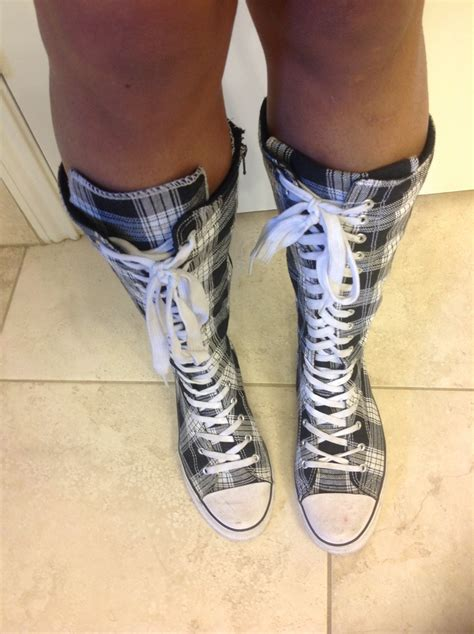 converse shoes for knee high knee high converse shoes