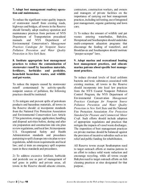 design criteria for wetlands replacement south shore estuary reserve council comprehensive