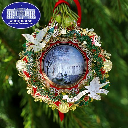 1980 white house christmas ornament 2013 white house woodrow wilson ornament