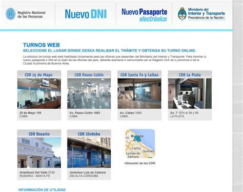 Sacar Turno Para Tramitar Dni Y Pasaporte En Buenos Aires   demoras en los turnos para sacar el pasaporte