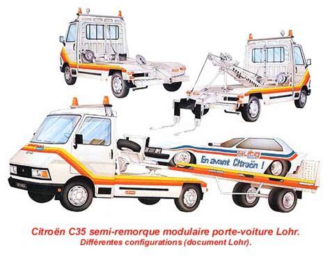 porte voiture lohr dossier les carrosseries sp 233 ciales sur citro 235 n c35