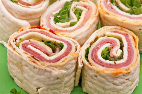 holiday rolls and pinwheels