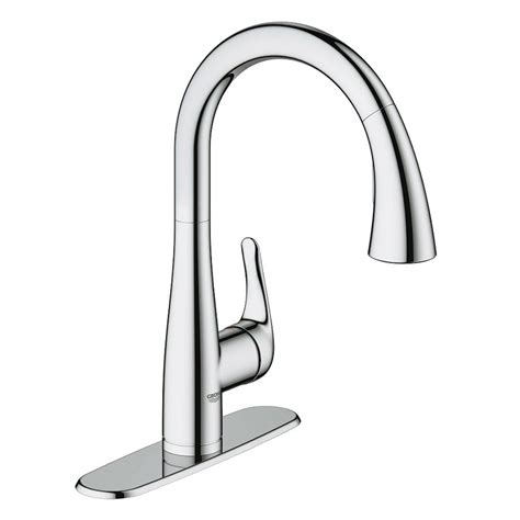 grohe kitchen faucets canada grohe 30211000 elberon pull kitchen faucet amati