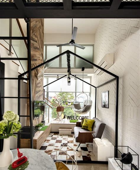 loft house design small loft house with aesthetics modern in singapore home design and interior