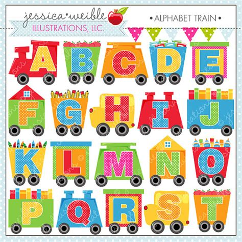 alphabet digital clipart for commercial or personal