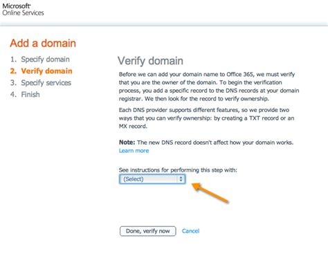 outlook 365 email template dns verification in office 365 and crm