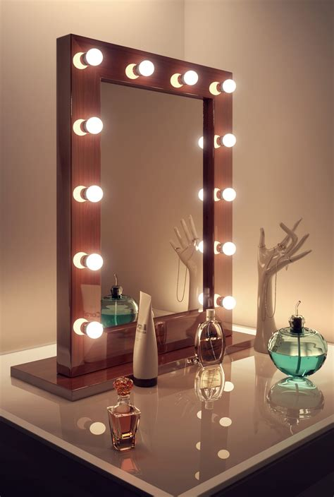 room mirror makeup dressing room mirror with cool white led ls k110cw ebay