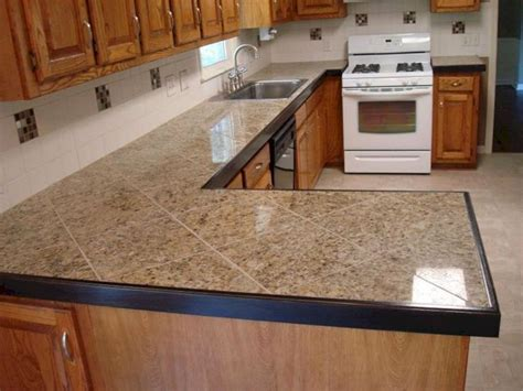 Kitchen Counter Top Designs Tile Kitchen Countertop Ideas Tile Kitchen Countertop Ideas Design Ideas And Photos