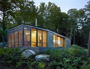 Cabin Plans Modern Ultra Modern Cabin Blends Rustic Warmth With Modern Minimalism