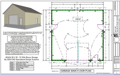 garage building plans pole barn house workshop studio design gallery