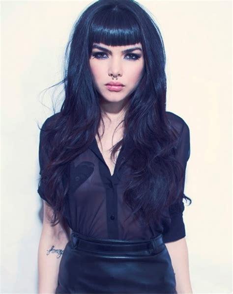 black hair with bangs black women with blonde hair newhairstylesformen2014 com