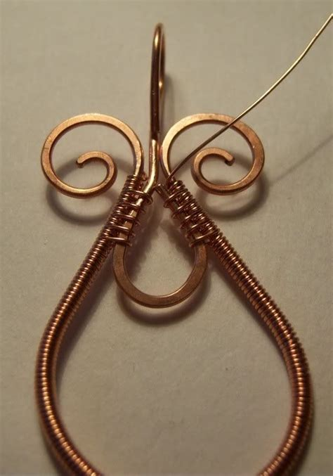 metal jewelry tutorials wire wrapped pendant free pdf here www rusticstudio