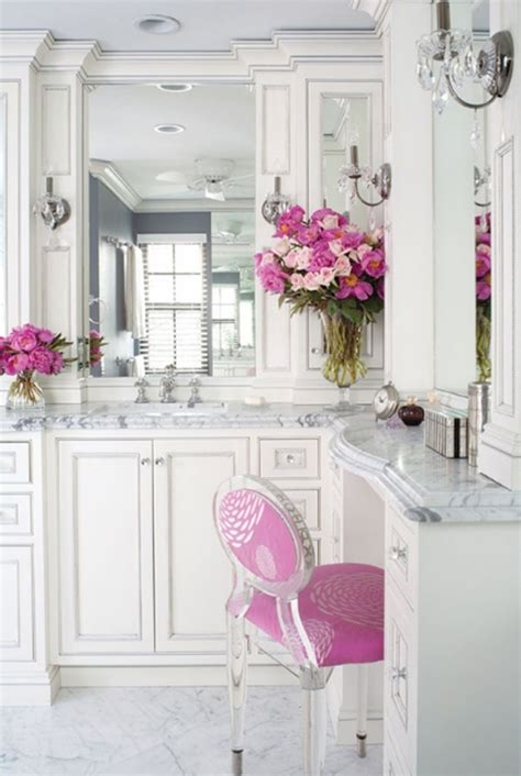 girly bathroom ideas luxury white bathroom design ideas