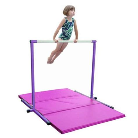 gymnastics bars for both beginners and pros