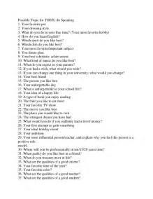 Essay Questions For Toefl Ibt toefl ibt speaking