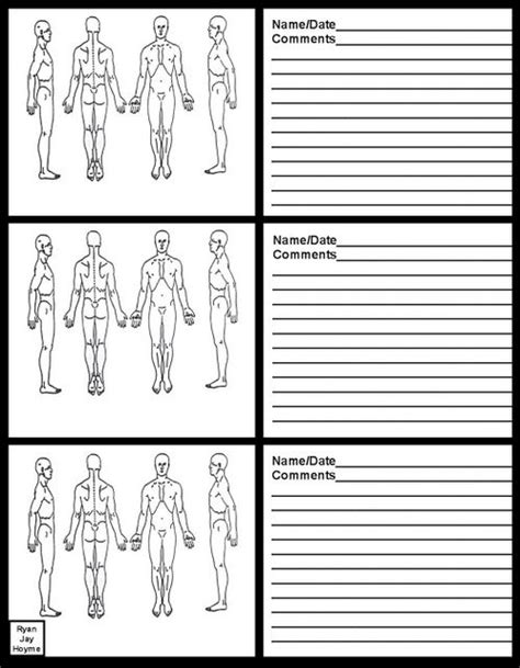 massage therapy soap note charts business pinterest