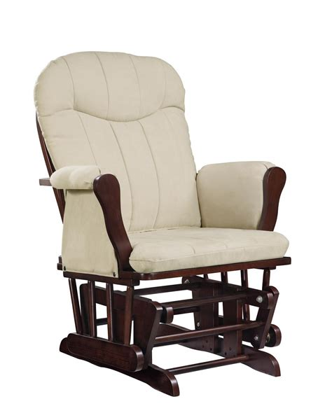 armchair glider wooden rocking chairs with cushions