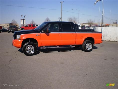 2004 black competition orange ford f250 duty harley davidson crew cab 4x4 26258941