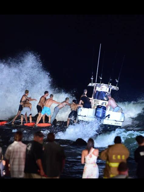 boat crash jersey 3 people rescued from spring lake boat crash