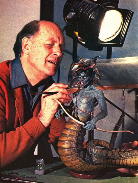 harryhausen signed special effects brochure the with harryhausen and his special
