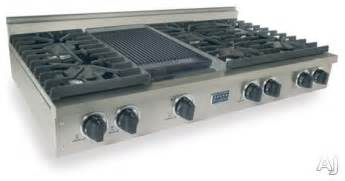 Thermador Gas Cooktop With Downdraft Five Star 48 Quot Pro Style Lp Gas Rangetop With 6 Sealed