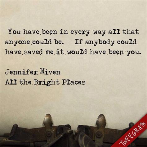 Niven All The Bright Places 30 best all the bright places quotes images on all the bright places quotes