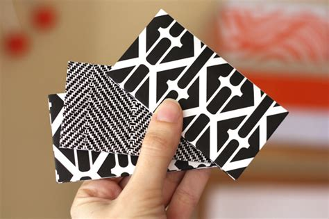 Origami Business Card - how to make an origami business card holder how about orange