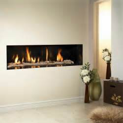 modern gas fireplace casual cottage
