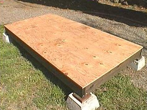 Sted Floor by Shed Roof Plywood Nolaya