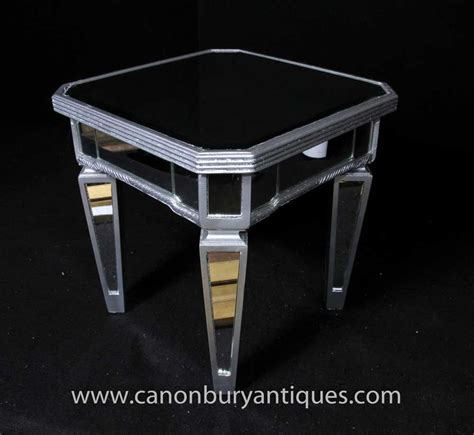 Borghese Mirrored Coffee Table Deco Mirrored Side Table Cocktail Tables Borghese