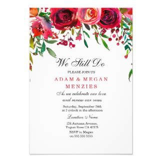 wedding renewal announcement wording renewal of vows invitations announcements zazzle co uk