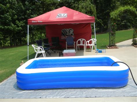 backyard blow up pools exterior astounding rectangle blue pools walmart kids blow up pool for outstanding
