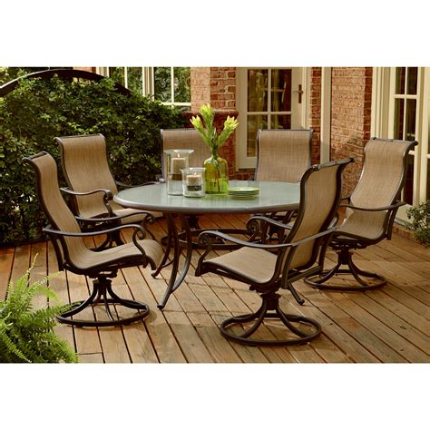 sears patio furniture clearance panorama 7 patio dining set improve your and