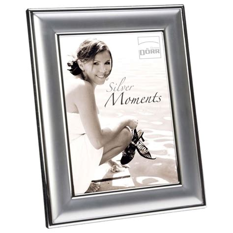 Silver Moments by Silver Moments Yvonne Silver Matt 6x4 Photo Frame