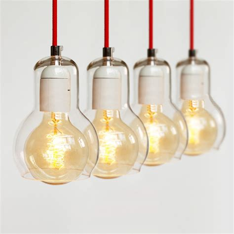 Mega Bulb Pendant Light Mega Bulb Glass Pendant Light Tudo And Co