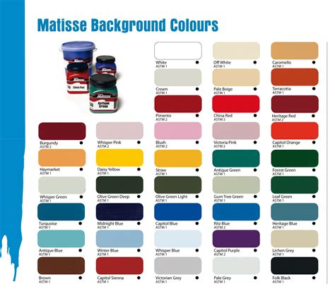 supplies australia derivan matisse acrylic artist paints background colours 250ml