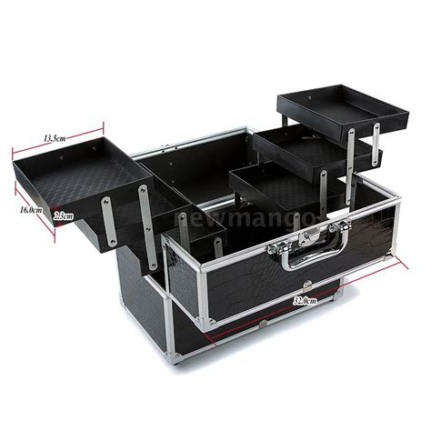 Big Car Organizer 5 large cosmetic organizer box make up lockable containing storage box a0y5