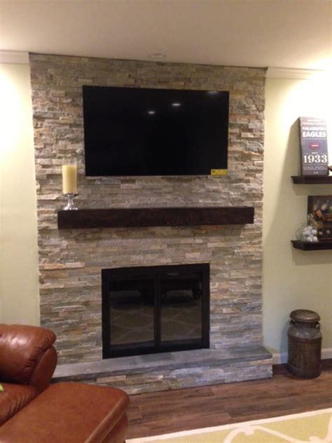 ledgestone fireplace glamorous ledge fireplace images ideas house
