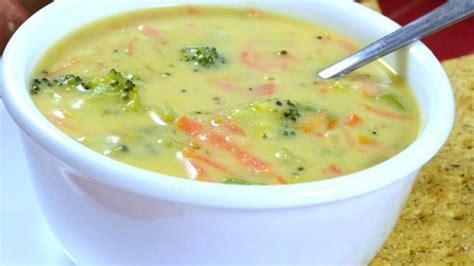 Soups On Broccoli Cheese Soup by Copycat Panera 174 Broccoli Cheddar Soup Recipe Allrecipes