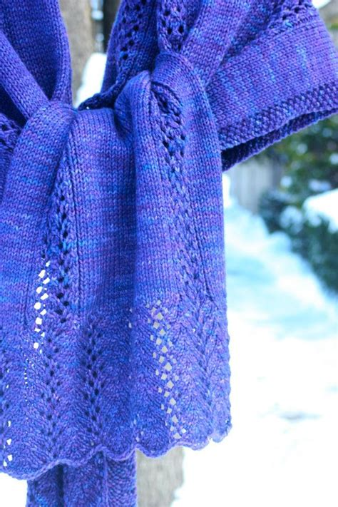 knit lace shawl pattern easy simple lace shawl pdf pattern knitting