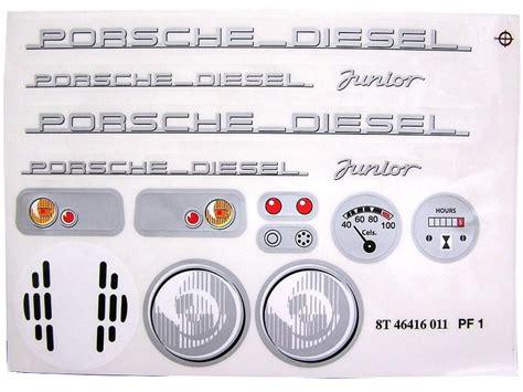 Porsche Diesel Aufkleber by Big Porsche Diesel Junior Porsche Diesel Junior Sticker